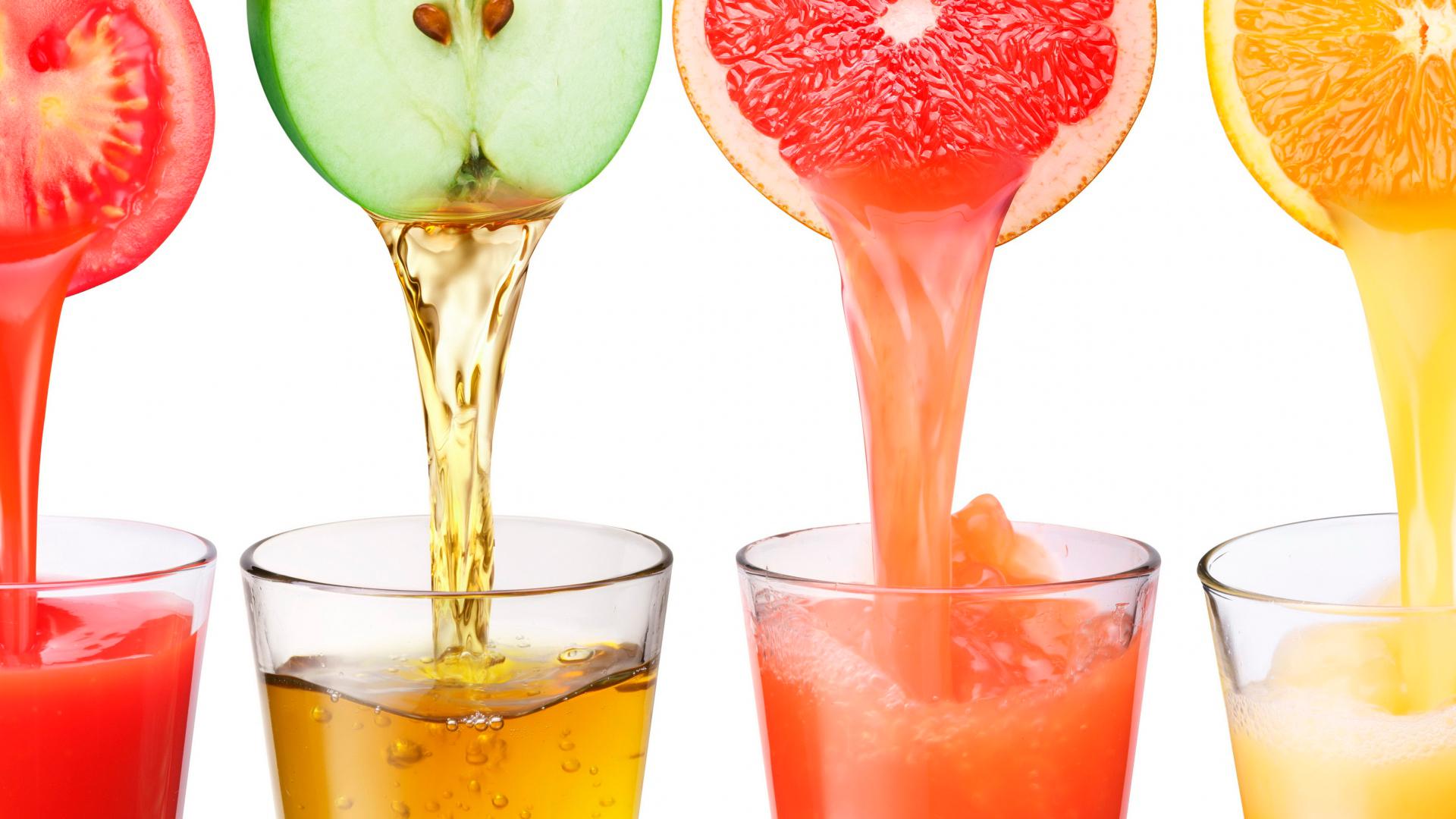 Польза соков